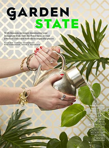 Set Design & Props by Helen Macintyre, Stylist Magazine Dennis Pedersen Sophie Henderson December 2017